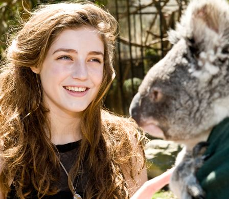 **Reason #15346 it rocks to work at DOLLY? We got to visit Taronga zoo with British superstar Birdy during her recent Aussie tour. Click through to peep the pics!** Birdy's debut album is available in stores now!