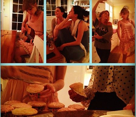 What better way to start the week than with your bestie? From dancing around the house to writing music and cooking cupcakes — it seems Selena and Taylor certainly have the perfect hang sesh sorted.