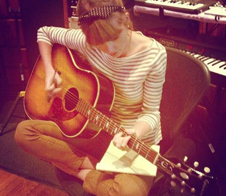TAYLOR SWIFT: She can sing, bake, play on tiny pianos and take a good sunset shot. How do we know all this? We follow her on Instagram, of course! Check her out @taylorswift