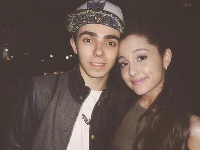 Ariana with ex-beau Nathan Sykes
