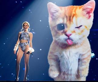 Miley Cyrus is bringing her Bangerz tour to Oz!