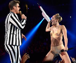 Robin Thicke angry at Miley Cyrus for going 'too far' during VMAs performance