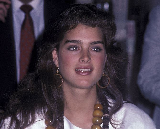 The new generation of supermodels dolly brooke shields this bushy browed brunette and 80s supermodel reminds us of altavistaventures Gallery