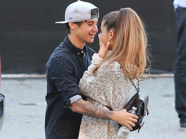 Ariana Grande and Jai Brooks confirm they're back together via Twitter