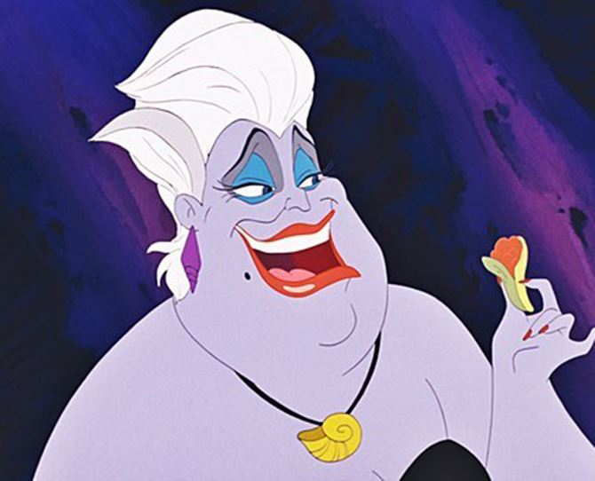 To the people who made *The Little Mermaid* film, we'd like to know how exactly Ursula paints her nails under the sea?