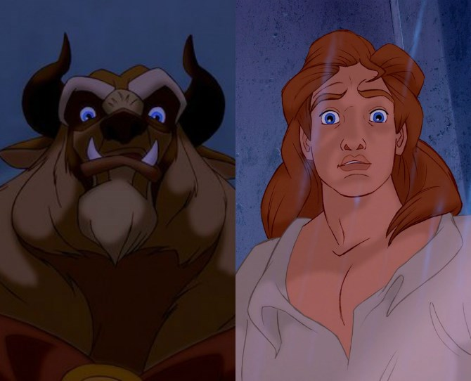 Why doesn't Beast (from *Beauty and the Beast*) know how to use a fork? He *was* human once, right? Did he forget?
