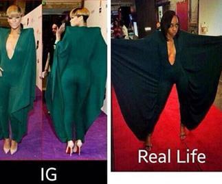Rihanna bullies fan over 'BatProm' outfit