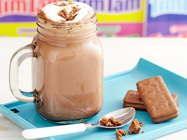 Tim Tam Slam Hot Chocolate