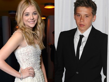 Chloe Grace Moretz hangs out with Brooklyn Beckham
