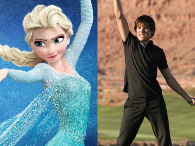 Watch: Zac Efron's 'Frozen' mash-up