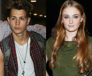 Cute couple: Sophie Turner and The Vamps' James McVey