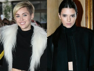 Sooo Miley Cyrus and Kendall Jenner are friends now...