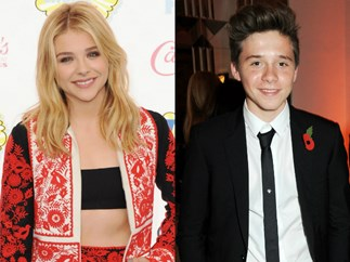 Chloë Grace Moretz and Brooklyn Beckham together at Teen Choice Awards