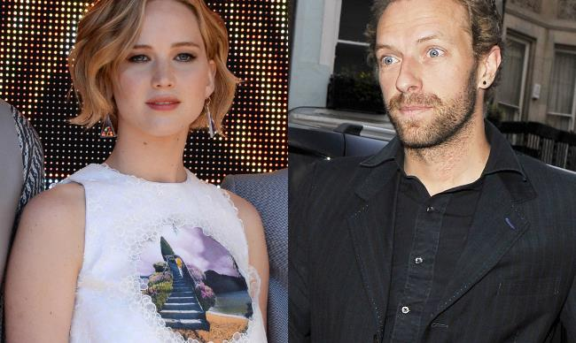 Are J-Law and Chris Martin dating?