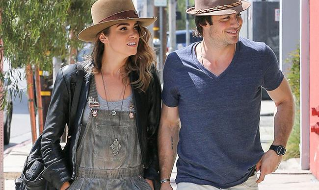 Ian Somerhalder hits back at fans hating on GF Nikki Reed
