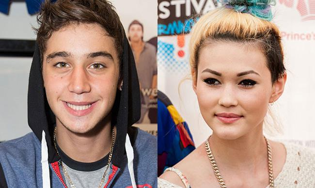 Ariana's ex, Jai Brooks kisses Neon Jungle's Asami on stage