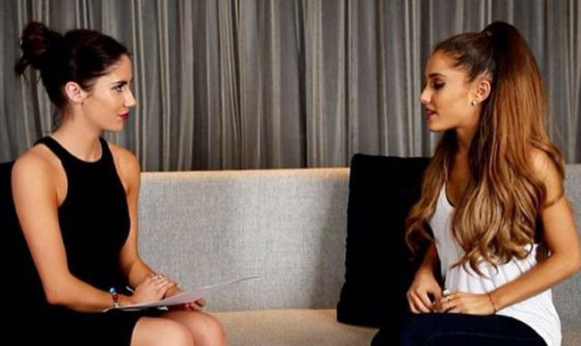 Exclusive: Ariana Grande talks about her chemistry with Harry Styles