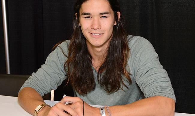 Hangin' out with Booboo Stewart