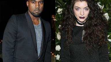 Kanye West and Lorde to collaborate
