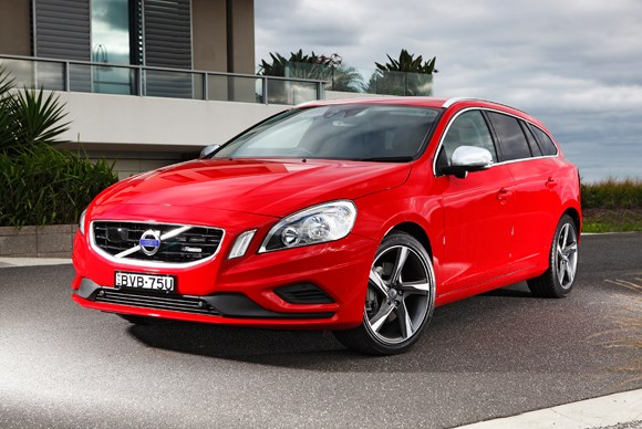 ***FAMILY CAR OF THE YEAR***  Bronze: Volvo V60