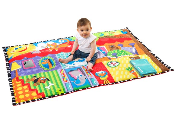 ***ACTIVITY MAT OF THE YEAR***  Silver: Playgro Happy House Super Mat