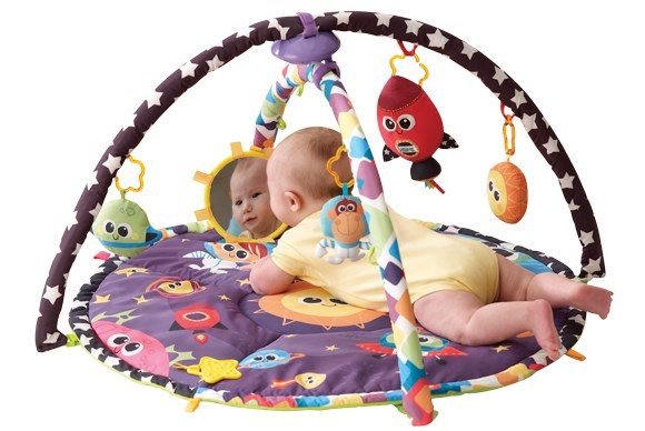 ***ACTIVITY MAT OF THE YEAR***  Bronze: Lamaze Space Symphony Motion Gym