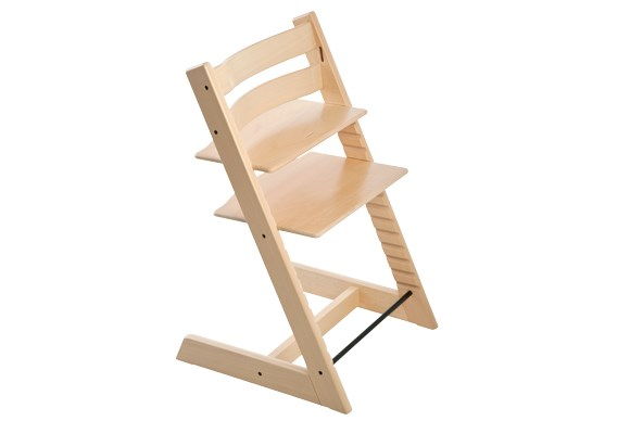 ***HIGH CHAIR OF THE YEAR***  Silver: Stokke Tripp Trapp chair