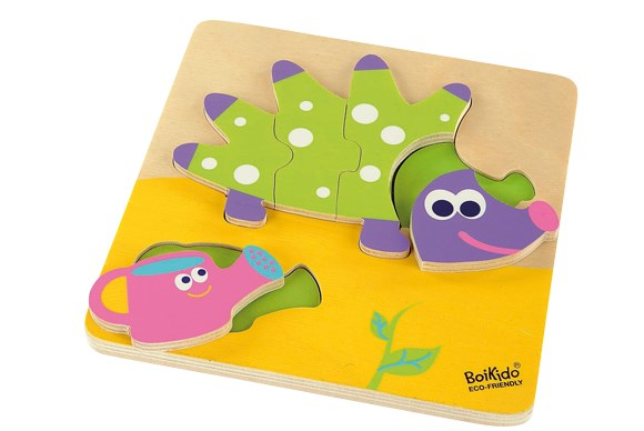 ***DEVELOPMENT TOY OF THE YEAR***  Silver: Boikido Eco Friendly My First Puzzle