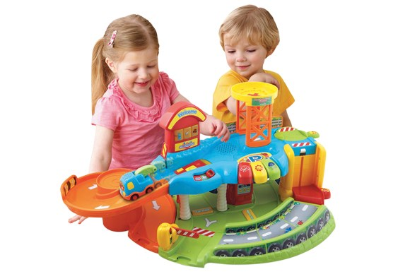 ***DEVELOPMENT TOY OF THE YEAR***  Bronze: VTech Toot-Toot Drivers Garage