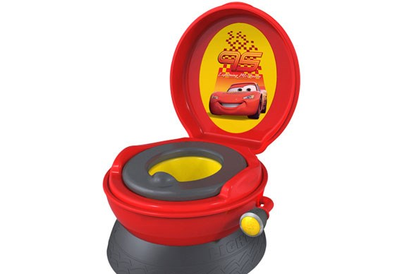 ***POTTY OF THE YEAR***  Gold: The First Years Disney Pixar Cars Rev and Go Potty System