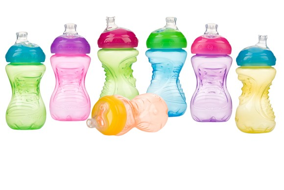 ***SIPPY CUP OF THE YEAR***  Silver: Nûby Super Spout Gripper Cup
