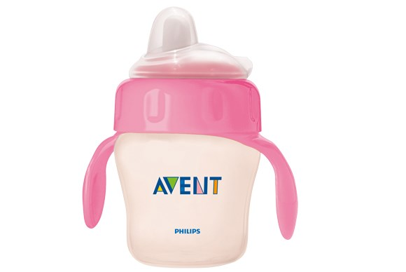 ***SIPPY CUP OF THE YEAR***  Bronze: Philips Avent 6m+ Toddler Non-Spill Cup with Handles