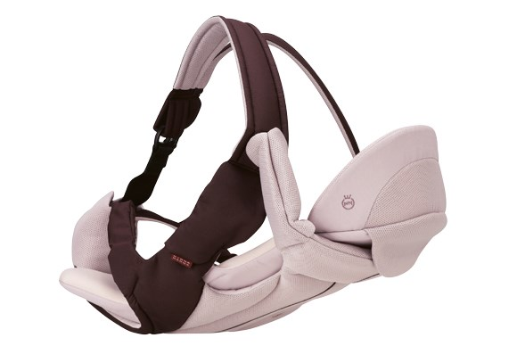 ***BABY CARRIER OF THE YEAR***  Silver: Combi Magical Compact 4-Way Baby Carrier