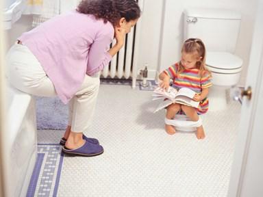 Top 10 children's books for toilet training