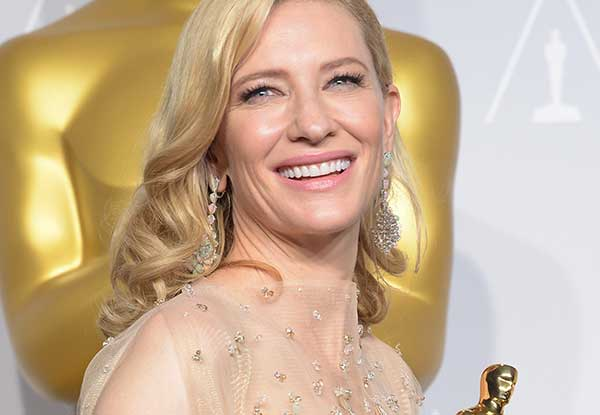 Cate Blanchett wins the top honour at the Oscars