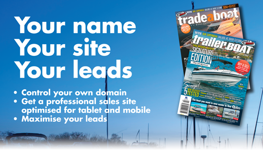 Dealer Sites, Your name, Your site, Your leads.