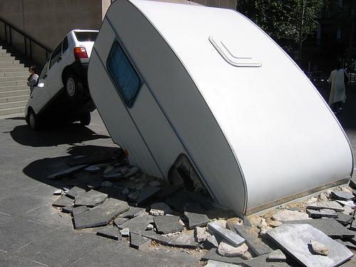 caravan smash