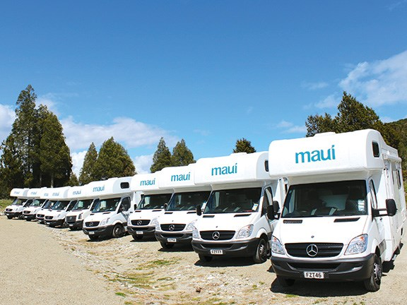 Rv Rampage Showcases New Zealand And Maui Motorhome And