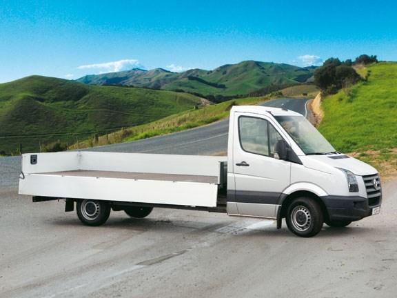 Base Vehicle: Volkswagen Crafter 50   Motorhome and Caravan Destinations New Zealand