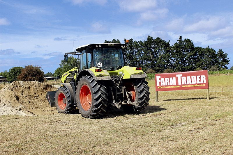 Claas Arion 530 Cis Top Tractor Shoot Out 2014 Winner