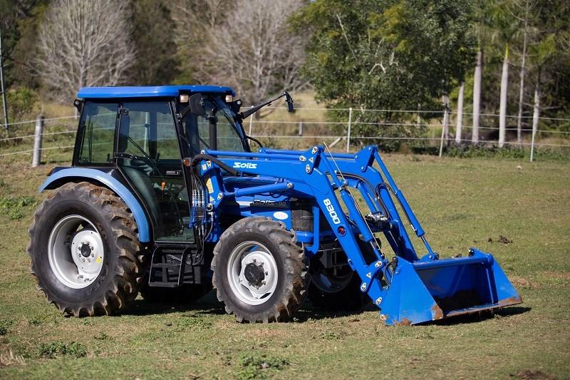 Indian-built Solis tractors power into Australia