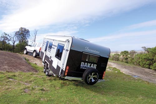 Creative Black Series Launches Its Offroad Caravan Models  Pat Callinan39s 4X4