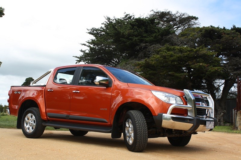The 2014 Holden Colorado LTZ ute has been updated with more power ...