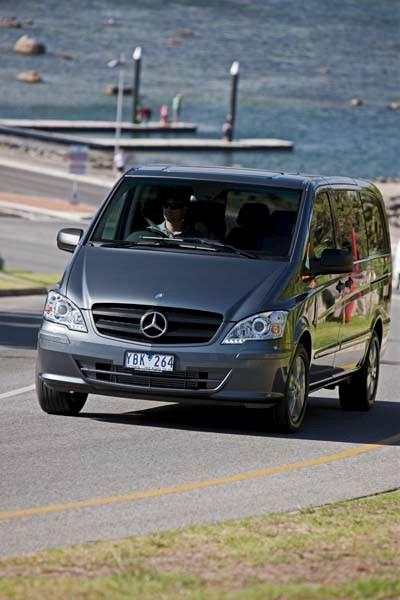 Mercedes benz vito van review trade trucks australia for Mercedes benz vito review