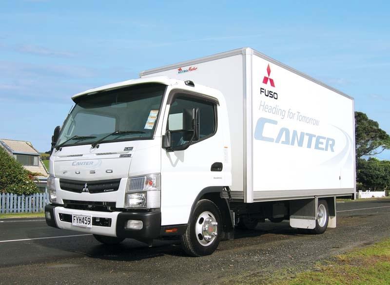 Mitsubishi Fuso Canter Euro Test Review Launch Trade