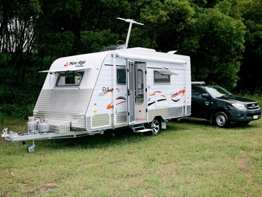 Model 15FT BILBY ENSUITE  New Age Caravans