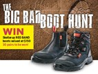 The big bad boot hunt