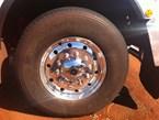 Truck tyre maintenance in the Australian outback