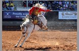 Win a family pass to the 2014 Mount Isa Mines Rotary Rodeo! Image: Kenyon Sports Photography