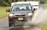 The Subaru Forester 2.5i CVT is a tow vehicle with even more towing capacity than before.